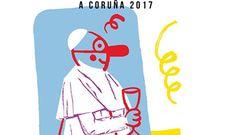Imputan en A Coruña a un concejal por el polémico cartel del carnaval del papa