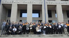 Entrega de insignias a Protección Civil en A Estrada