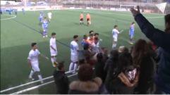 Pelea entre padres y jugadores en el Andorra - El Prat