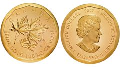 Roban una moneda de 100 kilos de oro en un museo de Berlín