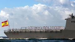 La majestuosa Sídney recibe a la fragata «Cristóbal Colón» en su periplo por Australia
