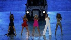 Actuación de las Spice Girls en los Juegos Olímpicos de Londres