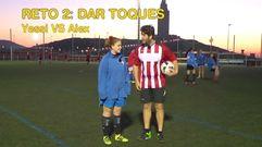 Reto futbolístico: ¡chicos contra chicas!