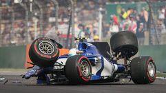 Aparatoso accidente de Giovinazzi en el Gran Premio de China