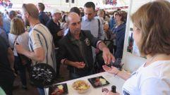Sober despidió la Feira do Viño con una jornada multitudinaria