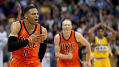 Russell Westbrook hace historia