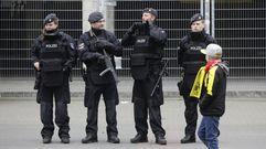 Seguridad extrema en Dortmund