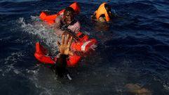 Rescate milagroso en el Mediterráneo