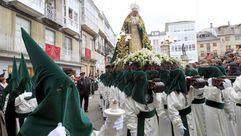 La procesión de la Esperanzaen Viveiro