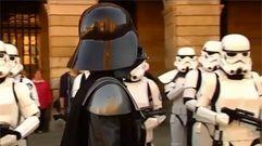 Las tropas imperiales invaden Compostela
