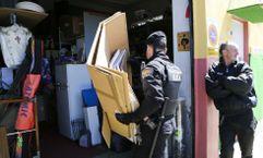 Registro policial en la ONG «Dignidad Galicia»