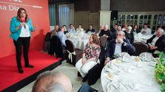 El PSOE de Lugo se une en torno a Susana Díaz en una cena