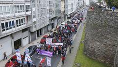 Las imágenes del Primero de Mayo en Lugo