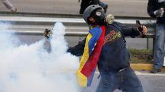 Un mes de violentas protestas en Venezuela
