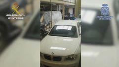 Desarticulada la «banda del BMW» que actuaba en A Coruña