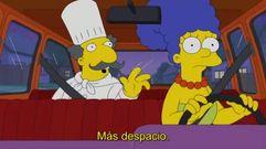 Cuando Marge Simpson se convirtió en conductora de Uber