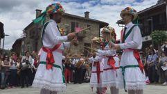 As danzas gremiais reviven en Vilanova
