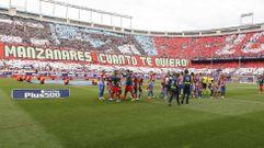 La despedida del Vicente Calderón, en imágenes