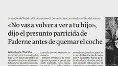 Los parricidios que sobrecogieron a Galicia