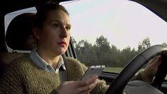 Móbil ao volante, en «Luz verde»