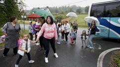 Buena parte del transporte escolar de la comarca está desfasado