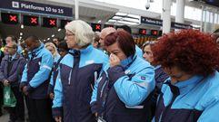 Emotivo minuto de silencio por las víctimas del atentado de Londres