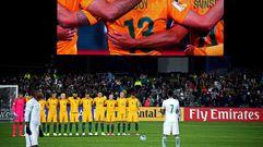 La selección de Arabia Saudí no respetó el minuto de silencio por el atentado de Londres