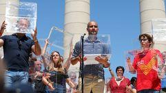 Guardiola, «en la defensa de los derechos amenazados de Cataluña»