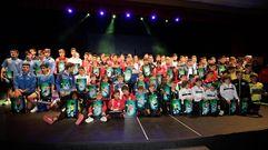 La gala del fútbol base provincial en imágenes