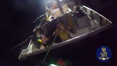 Rescate del Helimer 209 en plena noche