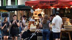 Reabre el mercado de Borough en Londres