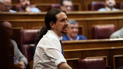 El Congreso rechaza a Pablo Iglesias como presidente del Gobierno