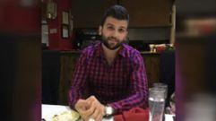 Un refugiado sirio se despidió contando por teléfono que el fuego le había alcanzado