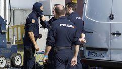 La Policía Nacional enseña sus unidades especializadas en Ourense