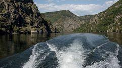 El cañón del Sil visto a ras de agua