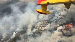 Incendio en Portugal: de la lluvia de fuego a la de críticas y al granizo