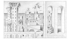Los mundos (dibujados) de Pérez Villalta, en Gema Llamazares