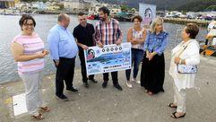 Décimo de lotería parala Festa da Merluza de Celeiro