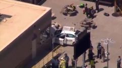 Varios heridos al impactar un taxi contra un grupo de peatones en Boston
