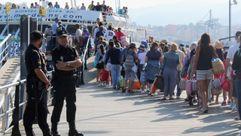 La policía vigilará el transporte de Ría en Vigo durante el verano