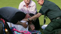 Mattek Sands sufre grave lesión en Wimbledon