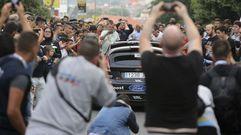 La avenida de Esteiro celebró el inicio del Rali de Ferrol