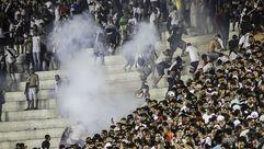 Así fueron los graves incidentes en el Flamengo - Vasco da Gama