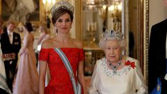 La cena de gala en el Palacio de Buckingham, en imágenes