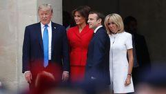 Trump llega a París en medio de la polémica de sus contactos con Rusia