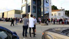 Multitudinaria Festa da merluza en Celeiro