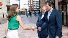 La reina Letizia, de visita por Asturias