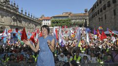 Acto del BNG en Santiago con motivo del Día da Patria
