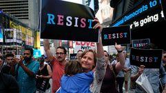 Protestas contra Trump por prohibir a los transexuales alistarse en el ejército