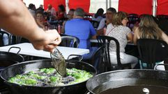 Cientos de personas disfrutaron de la Festa do Pemento de Mougán